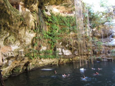 Cenote near Chichen Itza